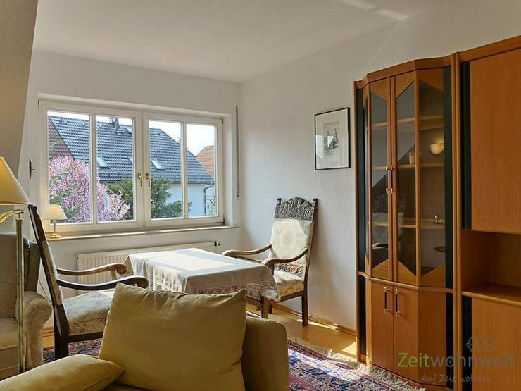Bild 3: (EF0504_M) Dresden: Ullersdorf, großzügige möblierte Wohnung mit eigenem Balkon in ruhi...