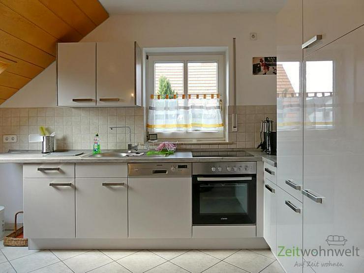 Bild 6: (EF0504_M) Dresden: Ullersdorf, großzügige möblierte Wohnung mit eigenem Balkon in ruhi...