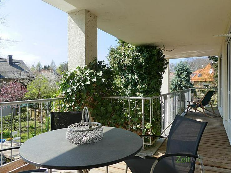 Bild 5: (EF0505_M) Dresden: Bühlau/Weißer Hirsch, traumhaft schöne 3-Zimmer-Wohnung in idyllisc...