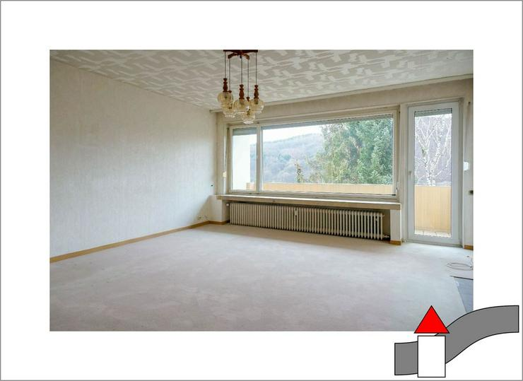 Aus alt mach neu: Renovierungsbedüftige Eigentumswohnung mit Frühstücksbalkon