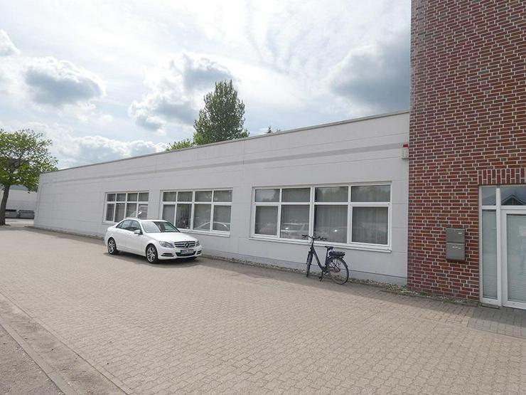 Bild 3: Gewerbehalle (ca. 180 m²) mit repräsentativen Büroräumen (ca. 107 m²)!