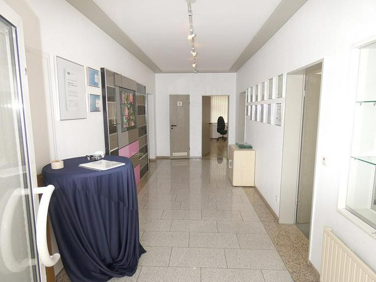 Bild 5: Gewerbehalle (ca. 180 m²) mit repräsentativen Büroräumen (ca. 107 m²)!