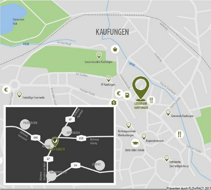 Bild 6: Lossepark - Moderne 3-Zimmer-Eigentumswohnung für abendliche Spaziergänge