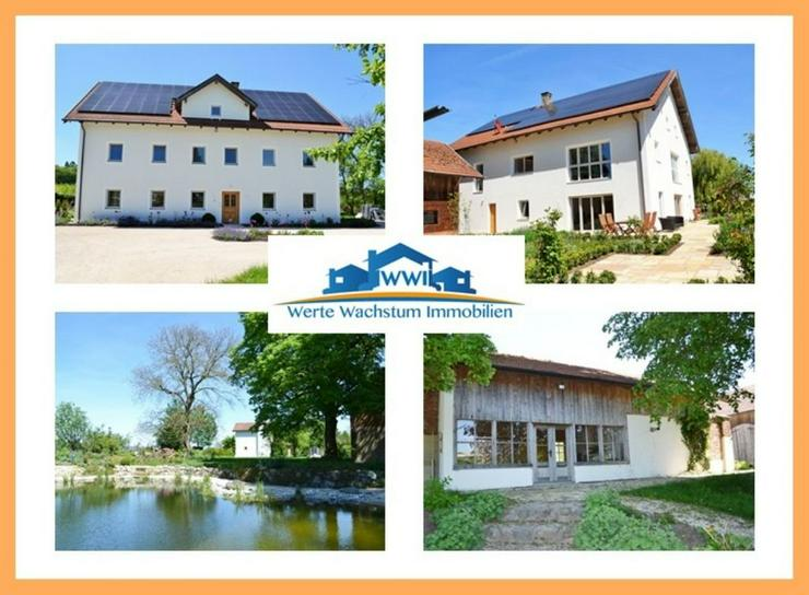 Historisches Anwesen im neuen Glanz nahe Burghausen..