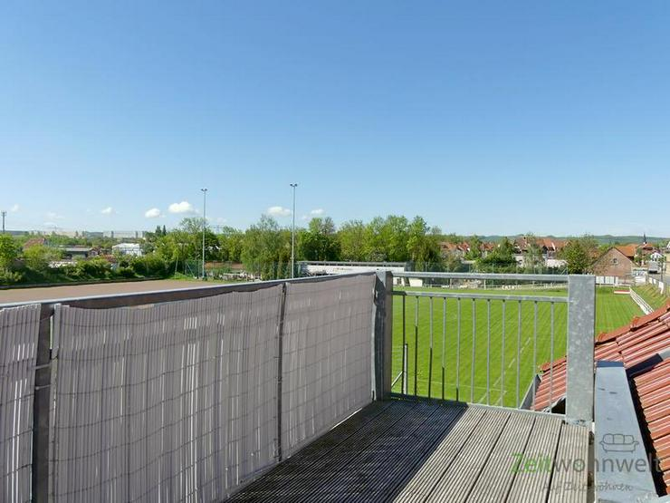 (EF0520_M) Erfurt: Gispersleben, ruhige möblierte Wohnung mit Parkettböden und sonnigem ...
