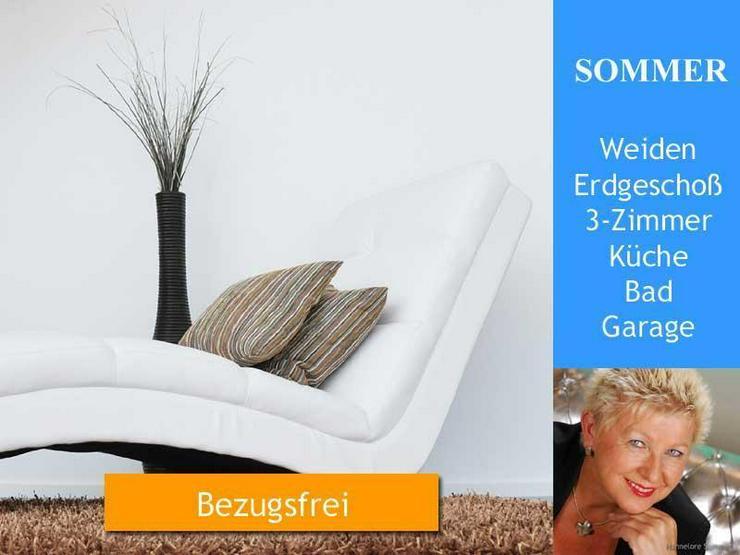 Weiden > Erdgeschosswohnung 3 Zimmer, Küche, Bad, Garage