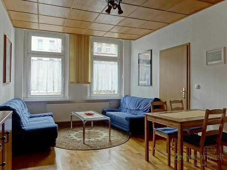 (EF0111_Y) Erfurt: Andreasvorstadt, möblierte große 3-1/2-Raumwohnung in Zentrumsnähe