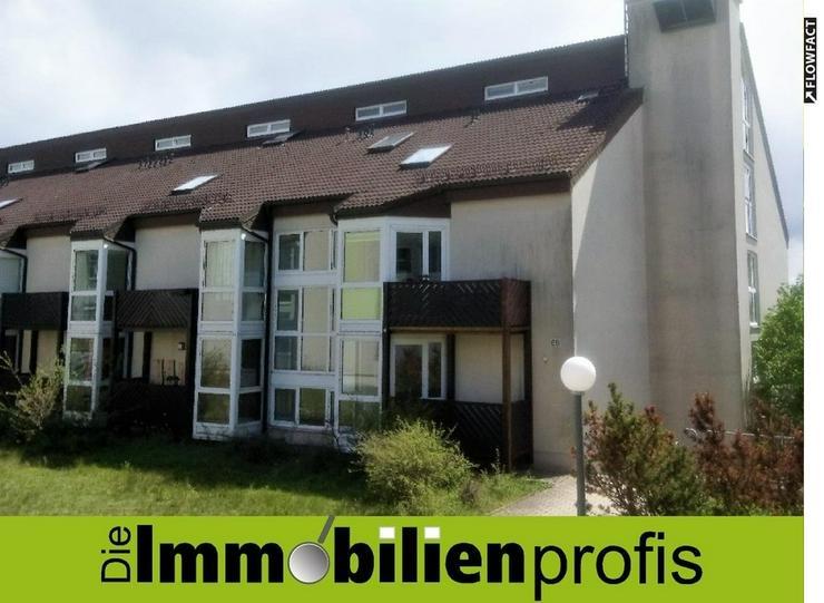 Nähe Fachhochschulen - 1-Zimmer-Appartement mit EBK und Balkon in Hof