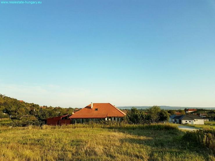 Bild 6: Baugrundstück mit Balatonpanorama