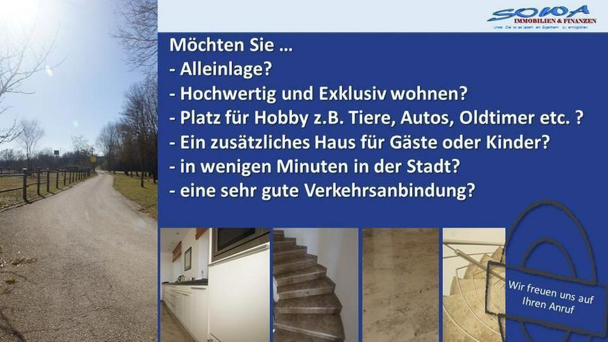 Einfamilienhaus in Alleinlage mit zusätzliches Gästehaus in Ingolstadt - Ein Traumhaus v...