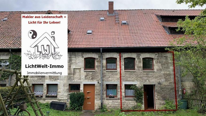 Schöppenstedt-OT: Wohnung mit Terrasse über 2 Ebenen - wie ein kleines Reihenhaus!