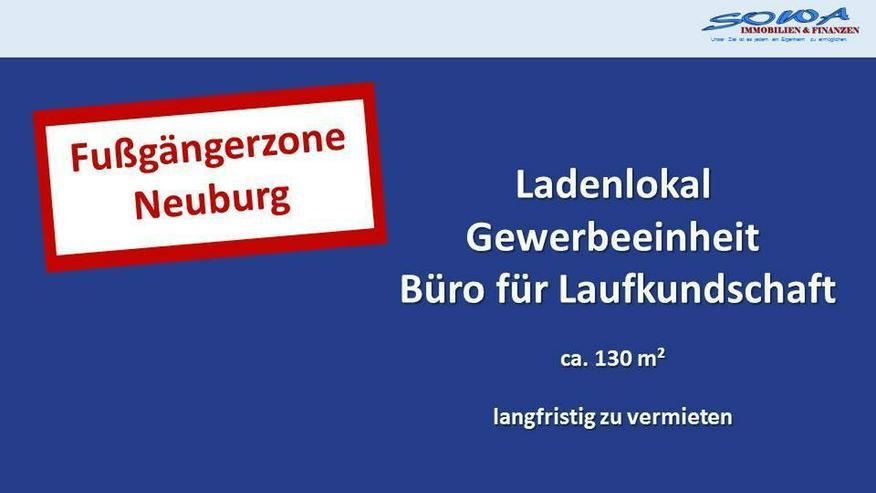 Zentrum - Fußgängerzone - Ladenlokal langfristig zu vermieten - Neuburg an der Donau - I...