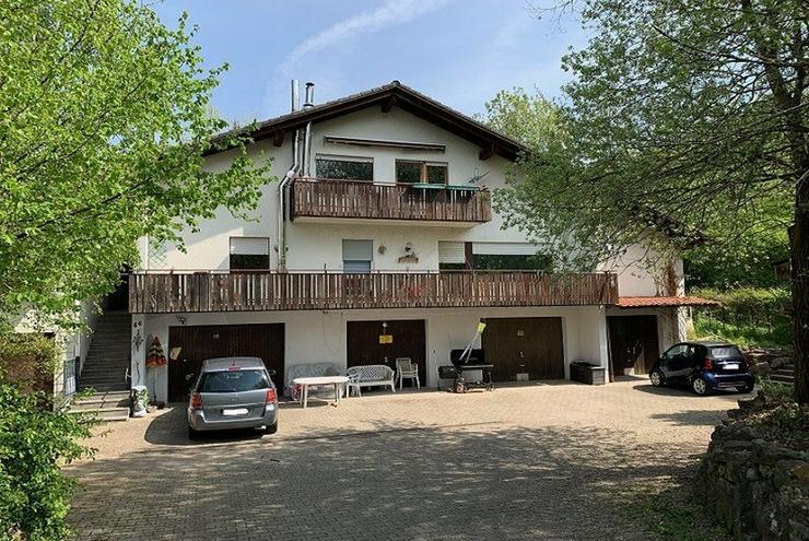 Dachgeschosswohnung mit Balkon im 2-FH in Neuenbürg