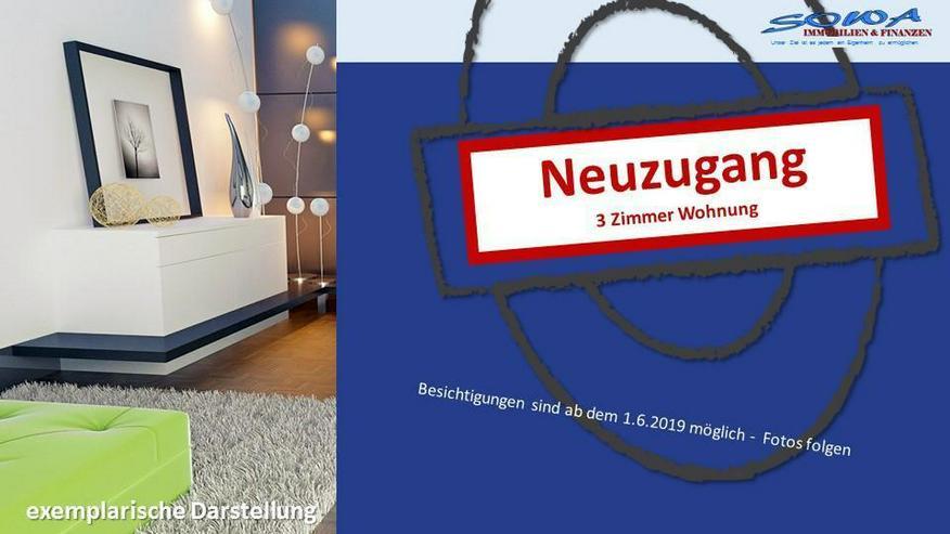 Bald einziehen - 3 Zimmer Wohnung mit Balkon - Ruhige- und Zentralewohnlage - Ein Objekt v...