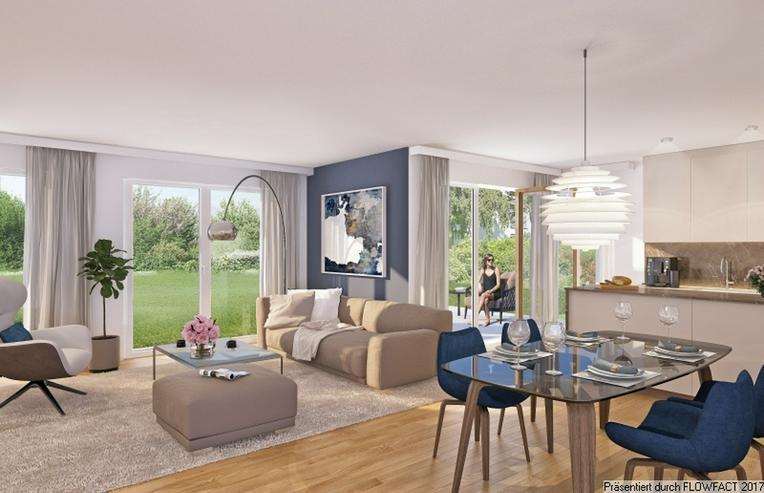 Villa Jakob - Moderne und barrierefreie 3-Zimmer-Wohnung mit Hobbyraum und ca. 250 m² Gar...