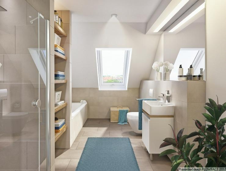 Bild 2: Villa Jakob - Moderne und barrierefreie 3-Zimmer-Wohnung mit Hobbyraum und ca. 250 m² Gar...