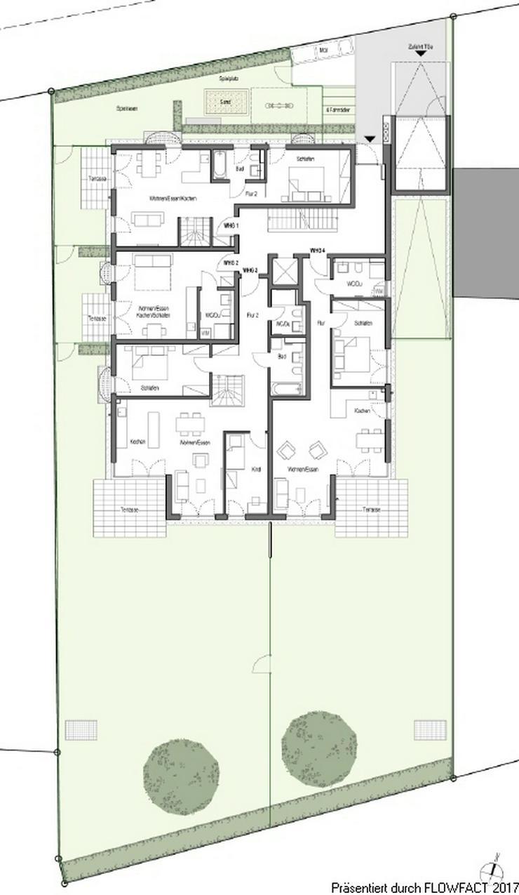 Bild 6: Villa Jakob - Moderne und barrierefreie 3-Zimmer-Wohnung mit Hobbyraum und ca. 250 m² Gar...
