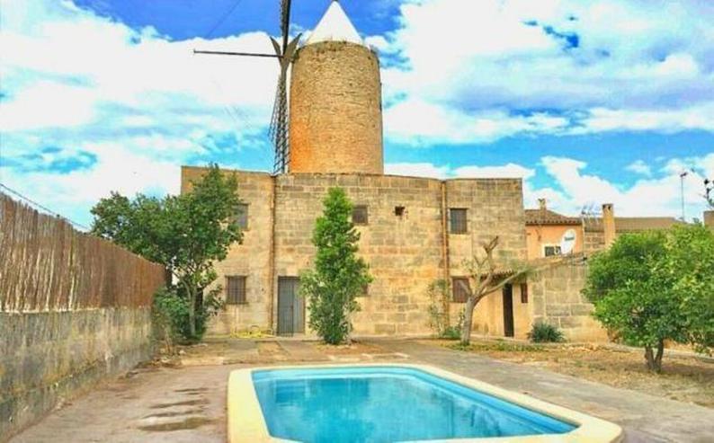 LANGZEITMIETE: kernsanierte Mühle in Algaida mit 3 Schlafzimmern