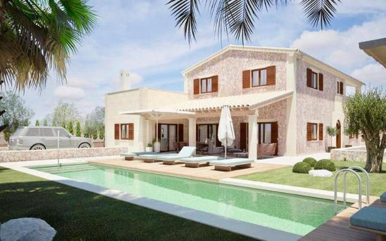 LANGZEITMIETE: neu erbaute Villa in Ses Salines mit 4 Schlafzimmern