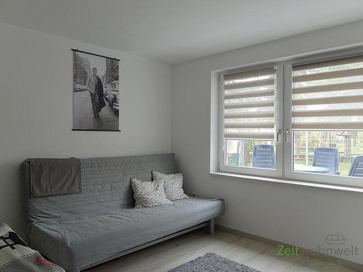 (EF0294_M) Gotha: Dachwig, modernes, neu möbliertes Apartment mit Terrasse in ruhiger Woh...