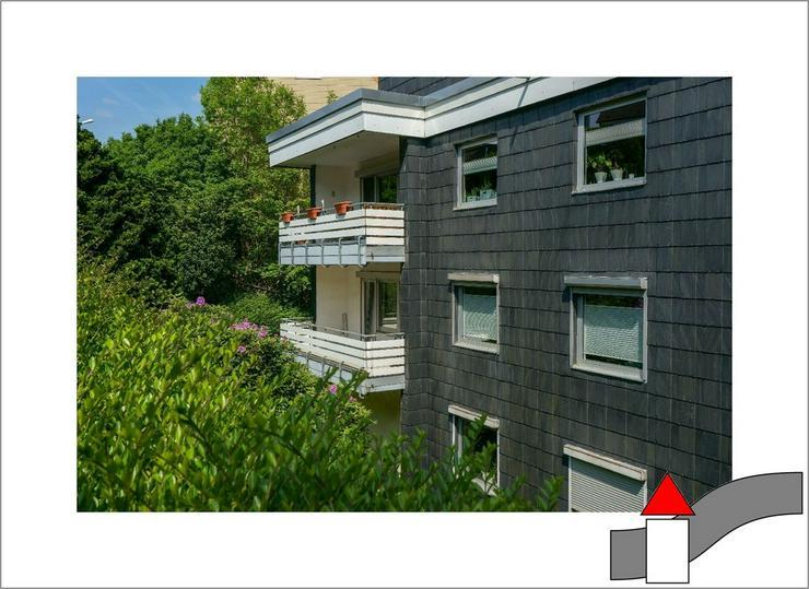 Versteckt in zentraler Wohnlage: 2-Zimmer Wohnung mit Südbalkon und grüner Aussicht