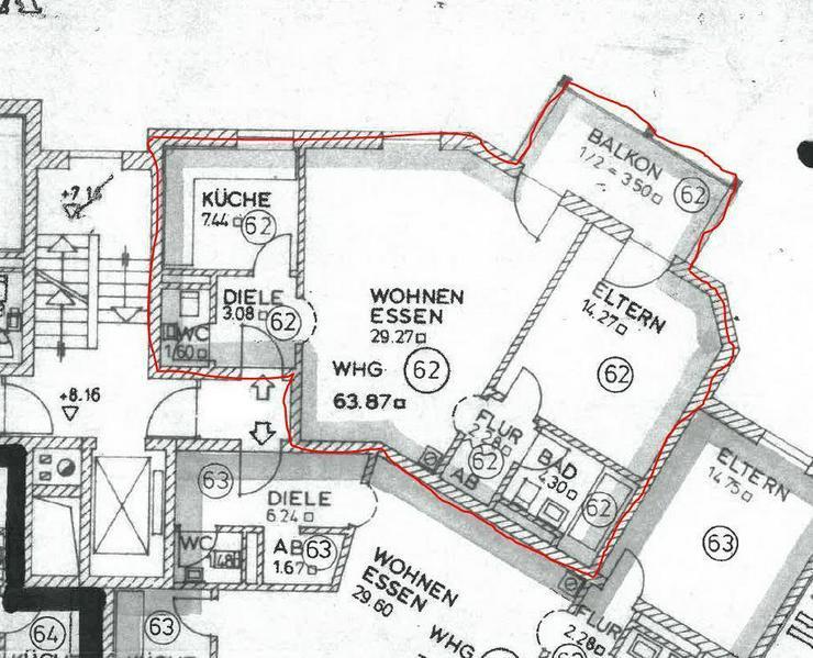Renovierte, großzügige geschnittene 2-Zimmer-Erdgeschoss-Wohnung *Provisionsfrei*