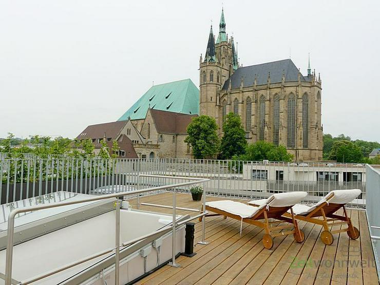 (EF0527_M) Erfurt: Altstadt, Erstbezug in neugebautes Loft am Domplatz mit Parkettboden, T...