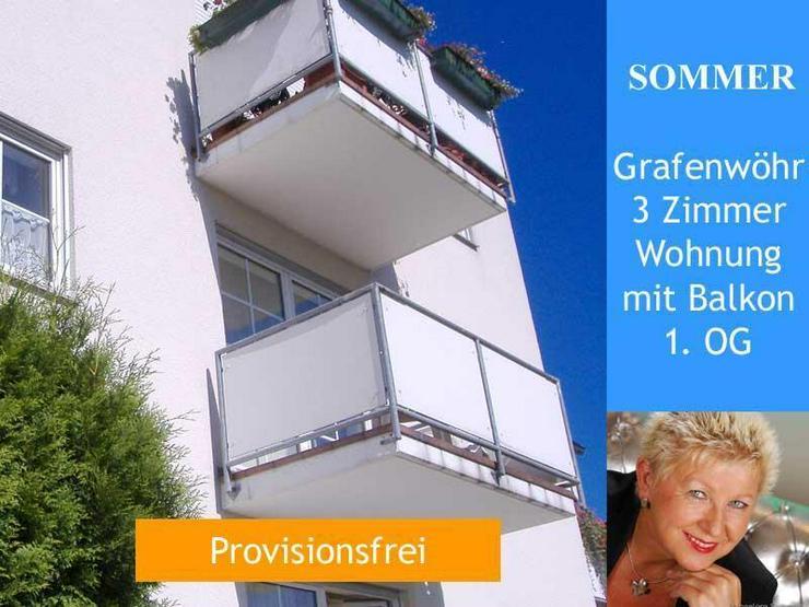 Grafenwöhr - 3-Zimmer Wohnung mit Balkon 1. OG