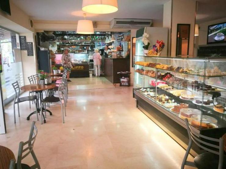MIETE / TRASPASO: Eisgeschäft (eigene Produktion) und Bäckerei in Palma