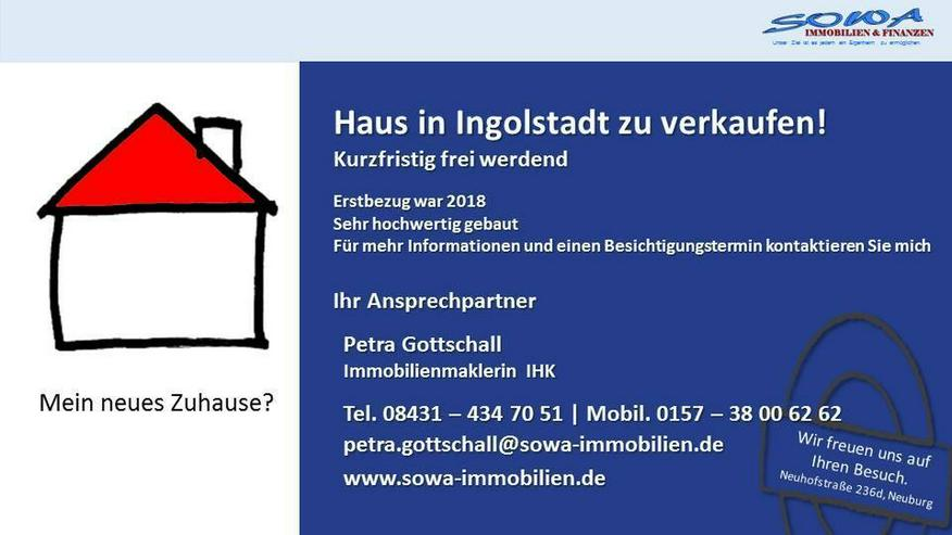 Neuwertiges Haus - einzugsbereit - in ruhiger Neubau Wohnsiedlung in Ingolstadt! Ein Eigen...