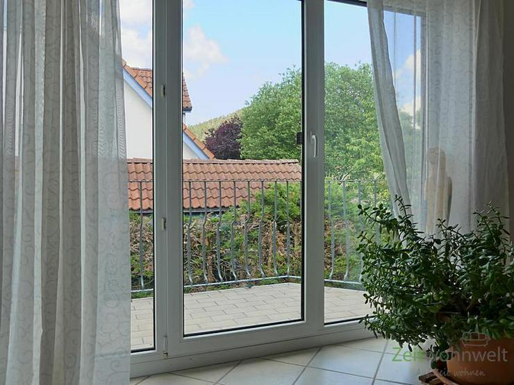 (EF0538_M) Ilmenau: Amt Wachsenburg, helle, möblierte Wohnung mit Balkon in idyllischer g...