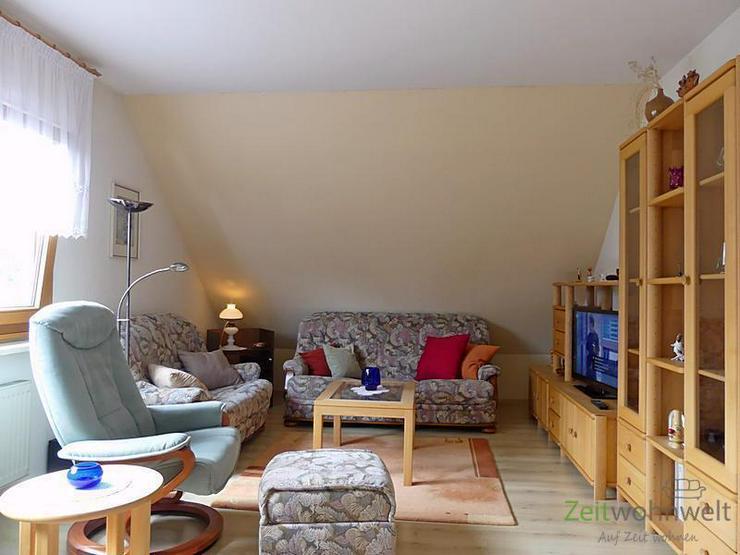 (EF0542_M) Dresden: Briesnitz, kleine möbl. 2-Zimmer-Wohnung in einem ruhigen Haus mit Ga...