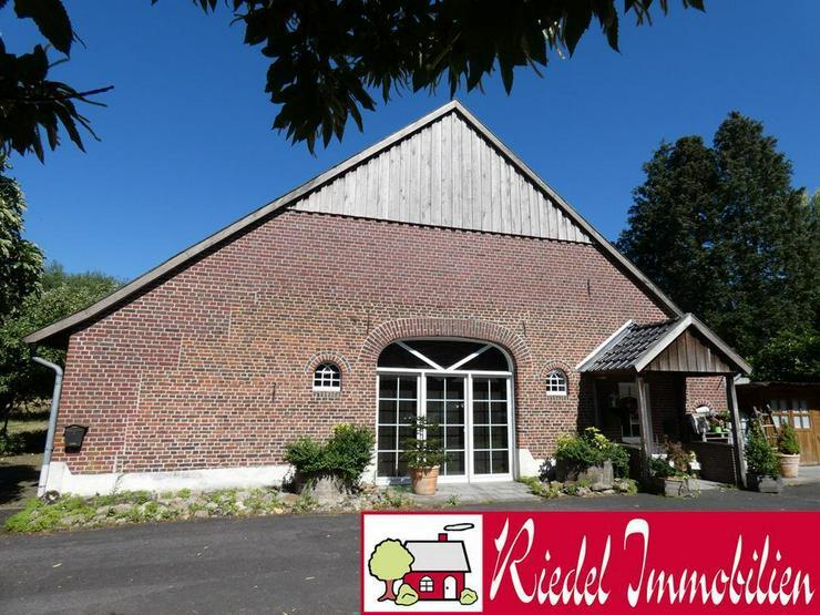 Saniertes Bauernhaus mit großer Scheune u. Garage (Grundstück ca. 7.211 m²) - Haus kaufen - Bild 1