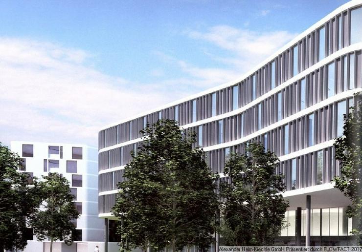 Hervorragende Architektur - U-Bahnnahe, moderne Büroflächen im Arabella-Business-Park