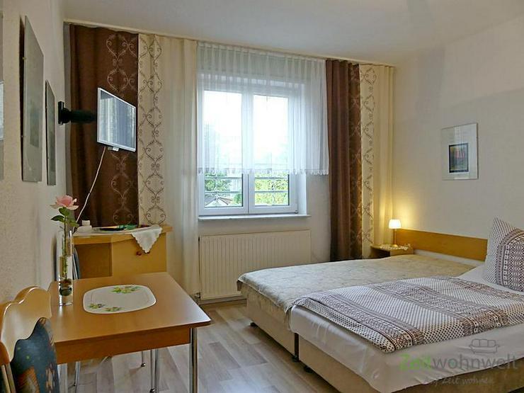 (EF0548_M) Erfurt: Melchendorf, ruhiges möbliertes Mini-Apartment auf der Gartenseite mit...