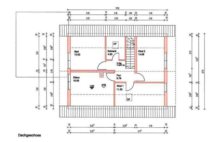 Bild 2: Massiv-Holzblockhaus in ruhiger Lage