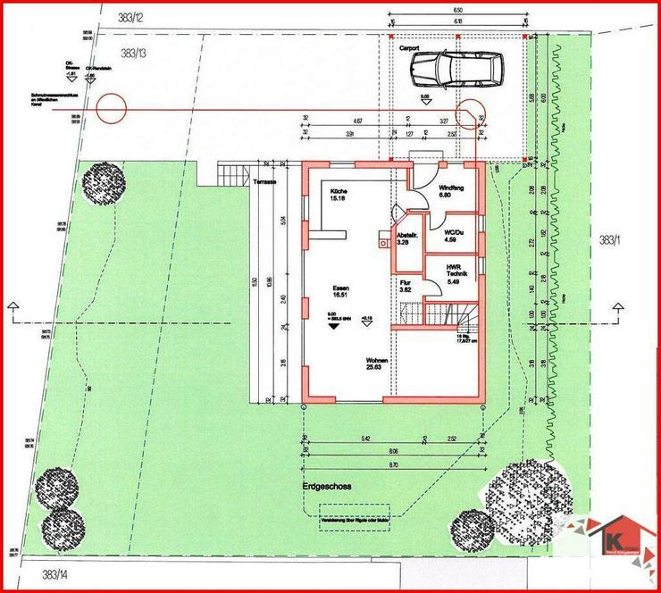 Massiv-Holzblockhaus in ruhiger Lage - Haus kaufen - Bild 1
