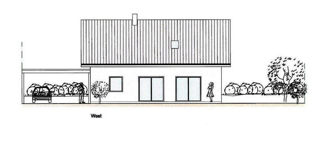 Bild 6: Massiv-Holzblockhaus in ruhiger Lage