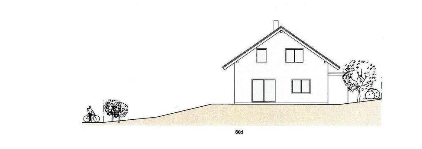 Bild 4: Massiv-Holzblockhaus in ruhiger Lage