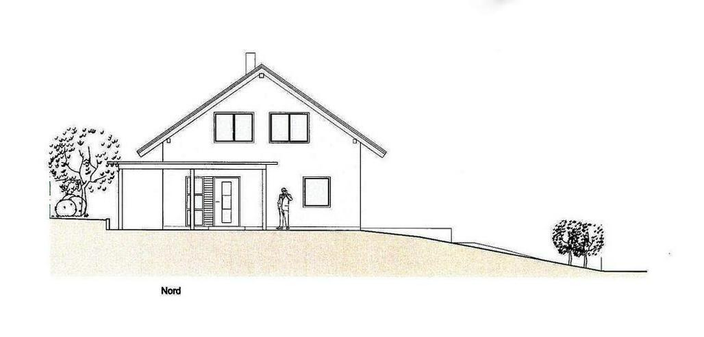 Bild 3: Massiv-Holzblockhaus in ruhiger Lage