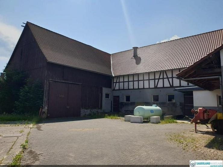 Bild 5: Wunderschön gelegene alte Fachwerkbauernhaus, Eimelrod