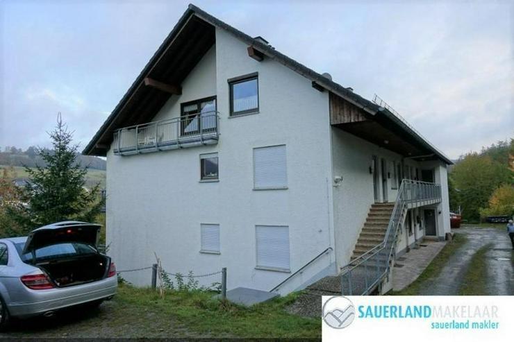 RESERVIERT - Schön gelegene 3-Zimmerwohnung in Schwalefeld