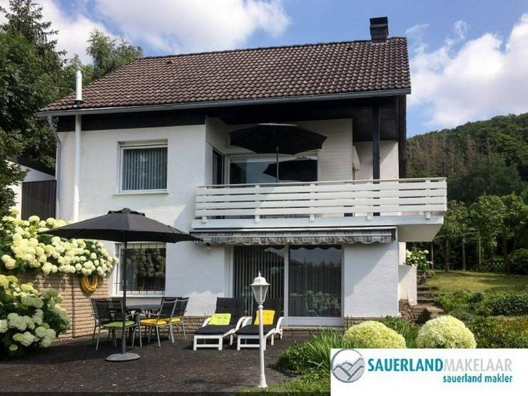 Ruhig gelegenes, freistehendes Haus mit Panoramablick und Garten