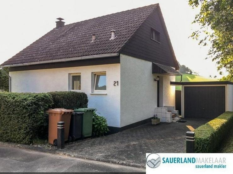 Bild 2: Ruhig gelegenes, freistehendes Haus mit Panoramablick und Garten