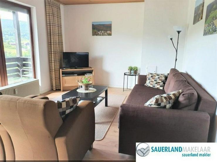 Bild 2: Gemütliche 4-Zimmer-Wohnung Schwalefeld mit schöner Aussicht
