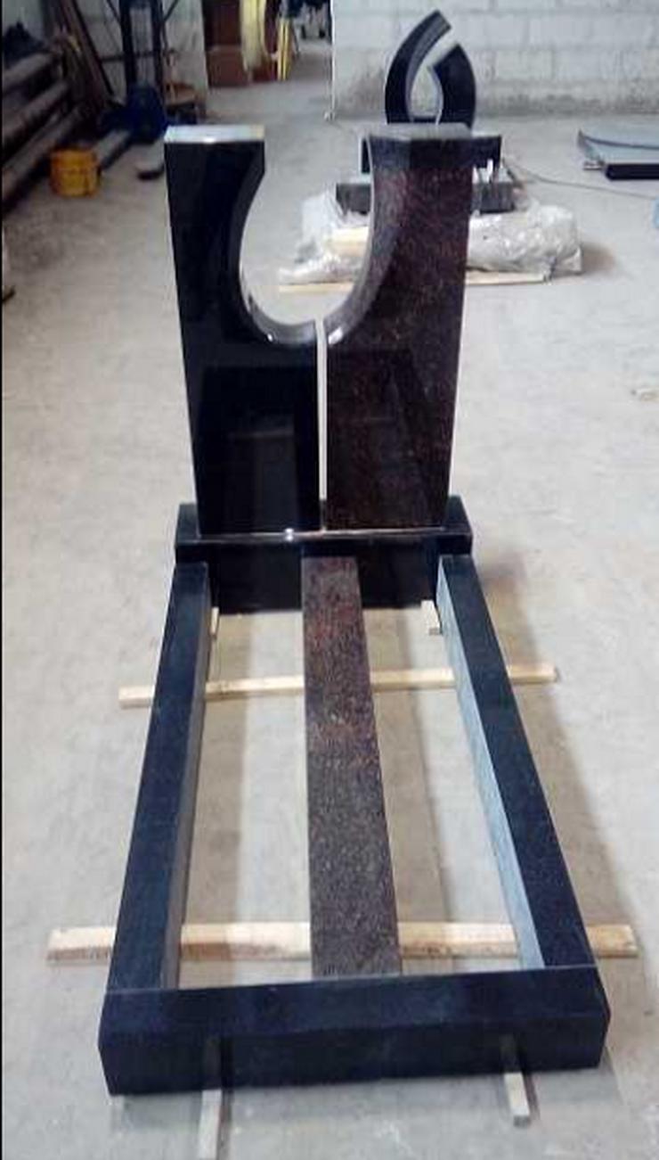 Bild 2: Neue Grabsteine werden verkauft