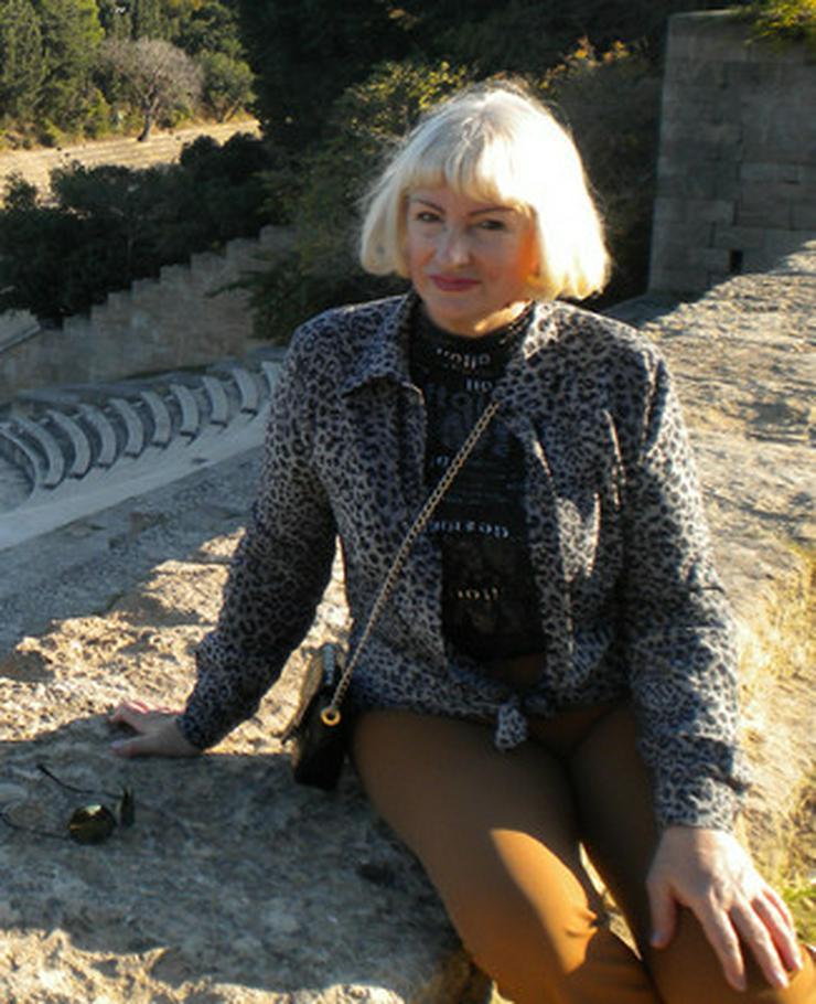 60jährige Witwe sucht noch einmal das Glück