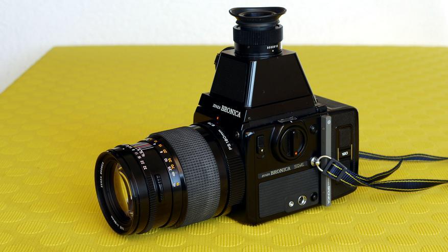 Mittelformatkamera 6 x 6 Zenza Bronica SQ-A