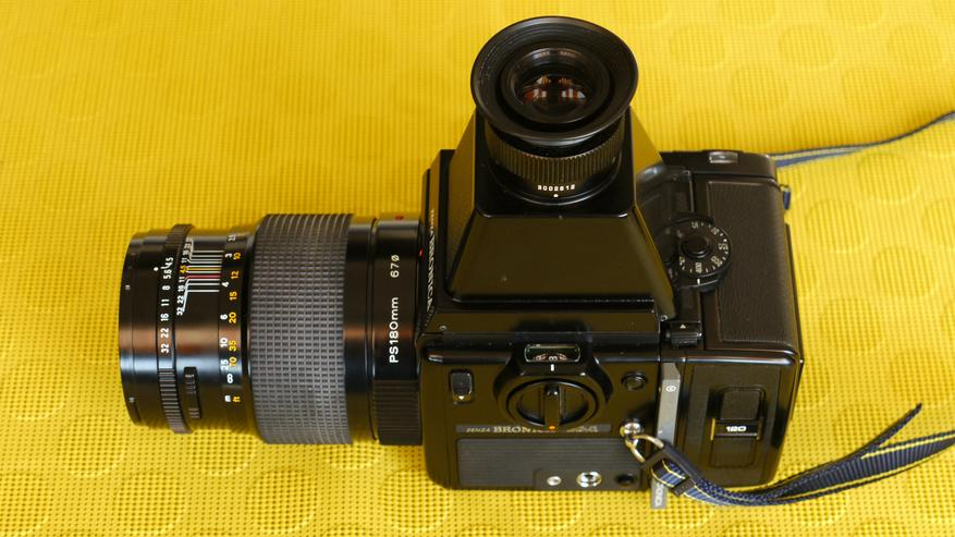 Mittelformatkamera 6 x 6 Zenza Bronica SQ-A  - Analoge Spiegelreflexkameras - Bild 1