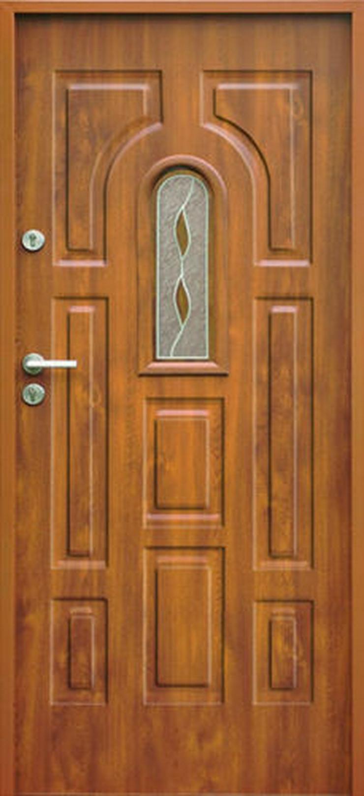 Bild 4:  Eingangstür Haustür Stahltür Wohntür Tür 70 80 90 100 Breite 7Farben 52mm Opus W3